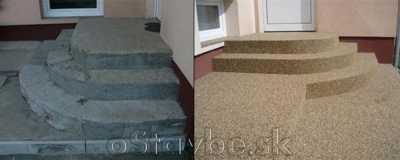 Povrchové realizácie,úpravy - kamienky ,,Tosptone,,
